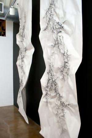 Installation shot at Swarm Gallery in Oakland, CA