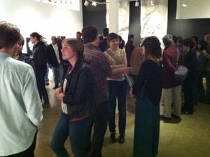 Artist Reception at Swarm Gallery